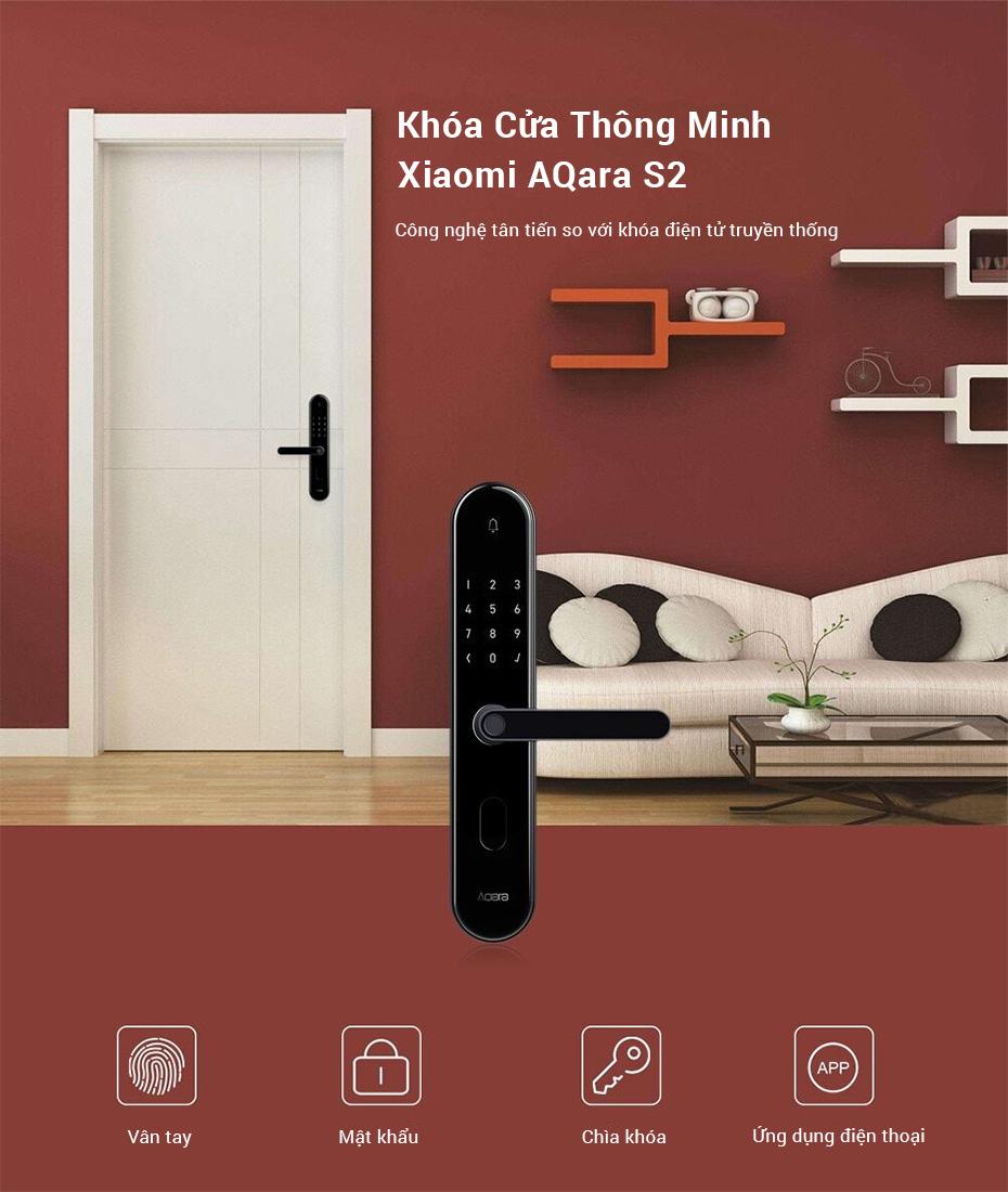 Xiaomi Aqara S2 Smart Door Lock in HCMC
