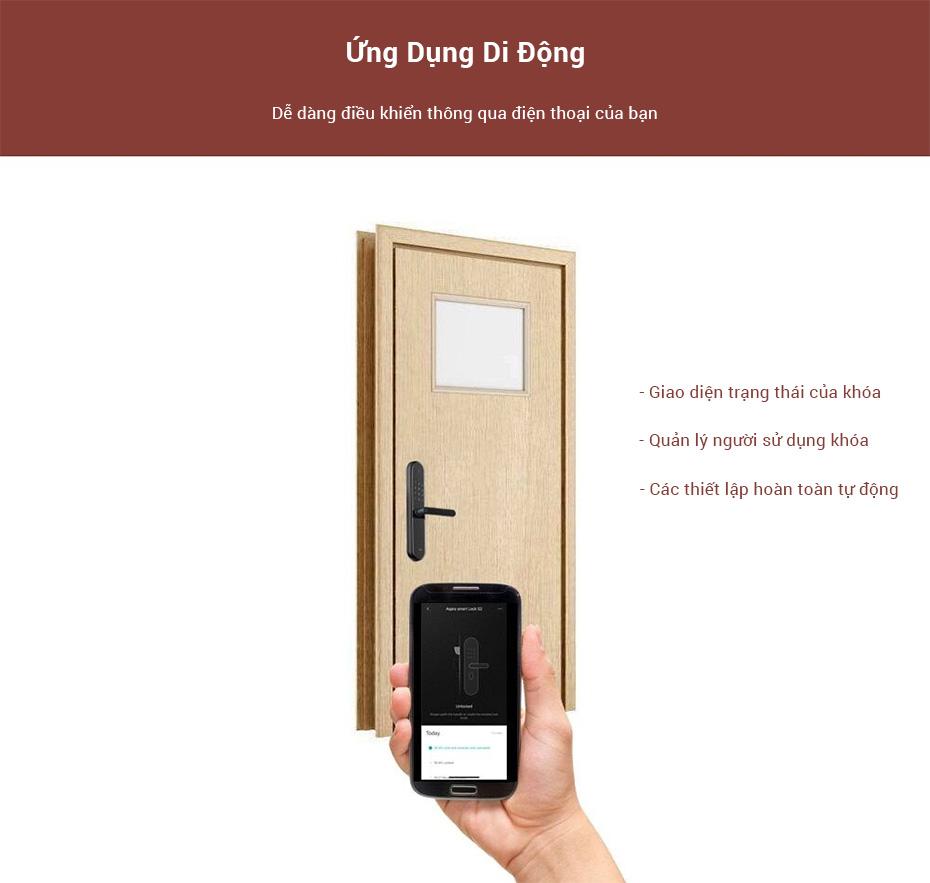 Store selling Smart Door Lock Xiaomi Aqara S2 tphcm
