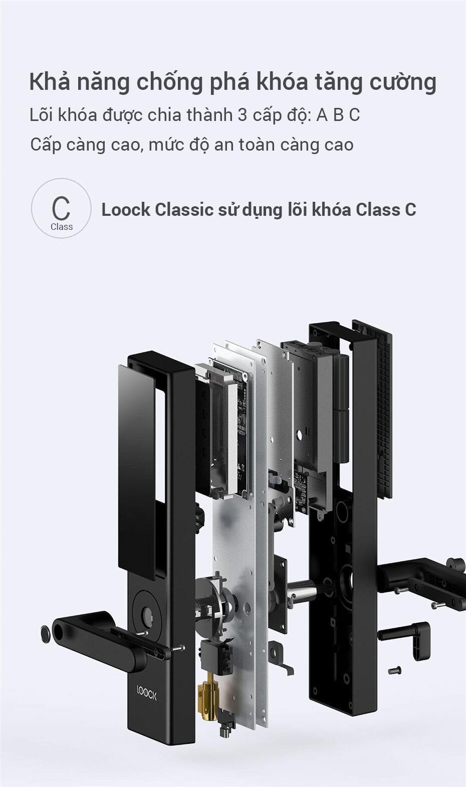 Khóa Cửa Thông Minh Xiaomi LOOCK Classic 21