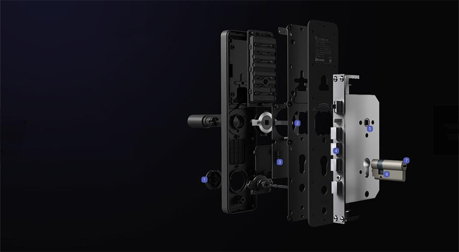 Khoá Cửa Thông Minh Xiaomi Mi Smart Door Lock 15