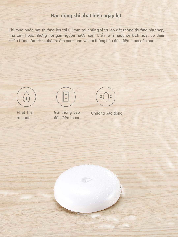 Thiết Bị Cảm Biến Rò Nước Xiaomi Aqara Chính Hãng An Toàn có nên mua không
