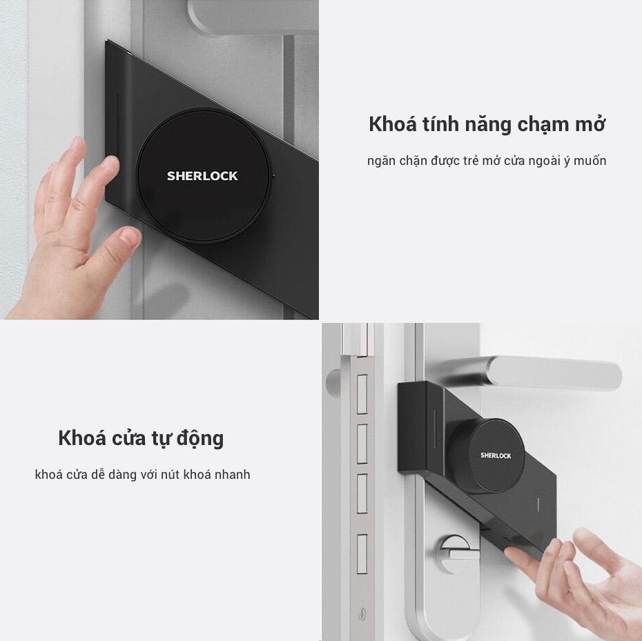 Các sản phẩm chuyên về Khoá Cửa Thông Minh Xiaomi Mijia Sherlock M1