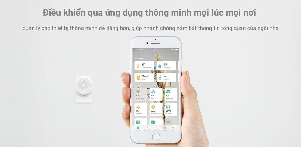 Aqara hub là trung tâm nhà thông minh giá rẻ.Kết nối qua giao thức Zigbee, các phụ kiện Aqara vẫn có thể hoạt động trơn tru với Apple HomeKit