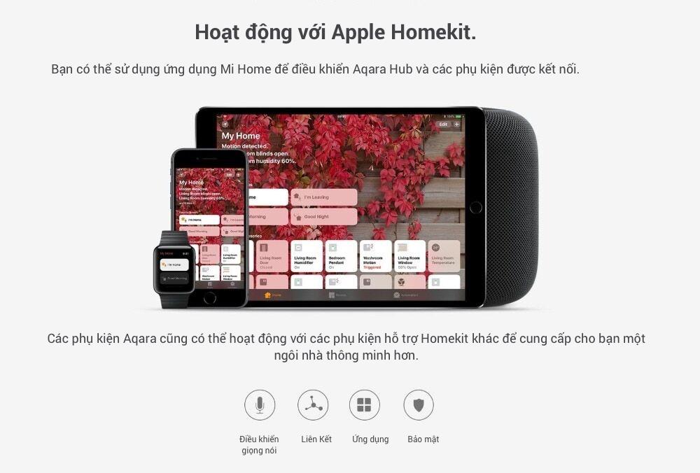 Mua Bộ điều khiển trung tâm Aqara Hub. Zigbee hỗ trợ Homekit Apple giá tốt. Mua hàng qua mạng uy tín, tiện lợi tại TPHCM