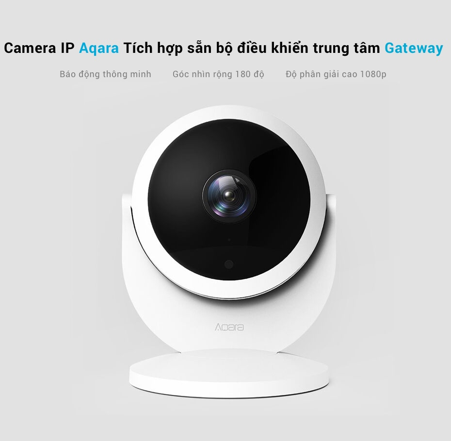 Aqara 1080P IP Smart Camera with 180 ° wide-angle fisheye lens (Gateway version) for sale in HCMC how much money
