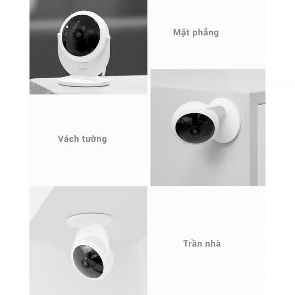 Camera Thông Minh IP Aqara 1080P với lens mắt cá góc rộng 180° (phiên bản Gateway) 3