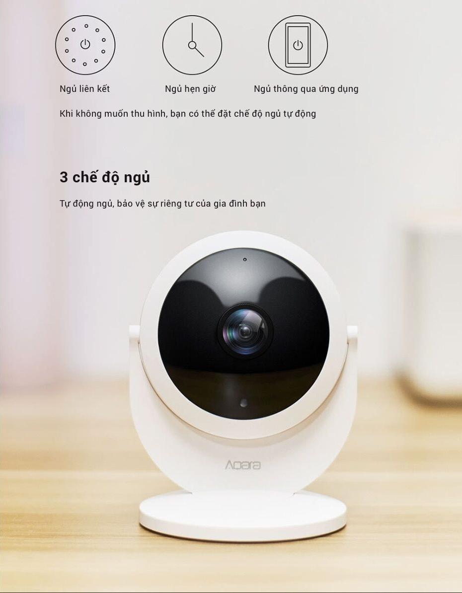 Camera Thông Minh IP Aqara 1080P với lens mắt cá góc rộng 180° (phiên bản Gateway) 16