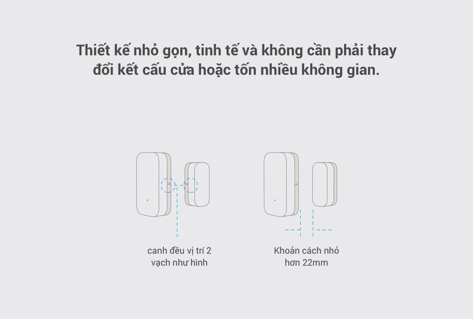 Cảm Biến Đóng Mở Cửa Thông Minh Mi Window and Door Sensor 11