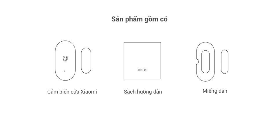 Cảm Biến Đóng Mở Cửa Thông Minh Mi Window and Door Sensor 13