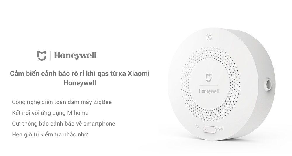 Cảm Biến Khí Gas Xiaomi Honeywell (Dùng Chung Bộ Homekit) chính hãng tphcm