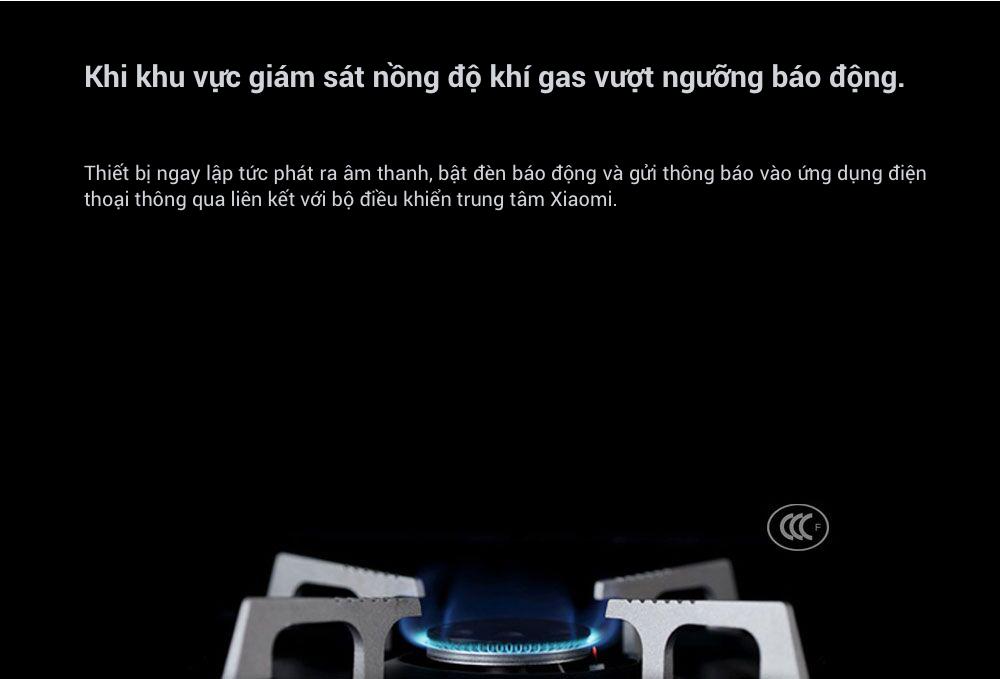 Cảm biến cảnh báo khí gas Xiaomi honeywell (dùng chung bộ Homekit) 8