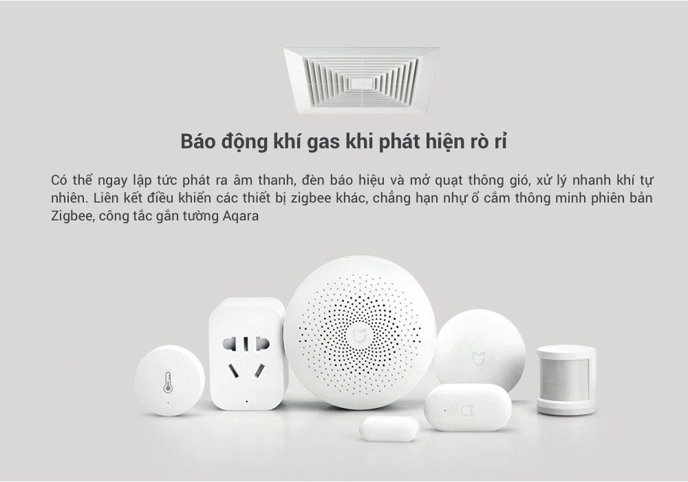 Cảm biến cảnh báo khí gas Xiaomi honeywell (dùng chung bộ Homekit) 10
