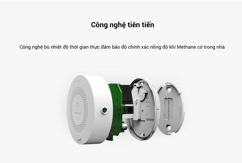 Cảm biến cảnh báo khí gas Xiaomi honeywell (dùng chung bộ Homekit) 12