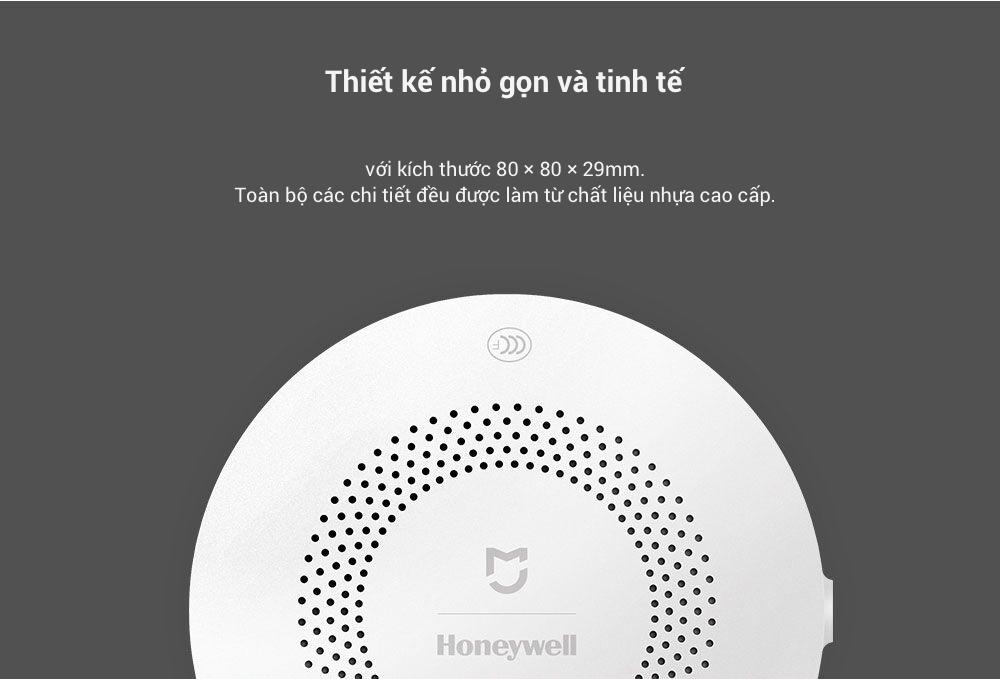 Cảm Biến Khí Gas Xiaomi Honeywell (Dùng Chung Bộ Homekit) hàng chính hãng