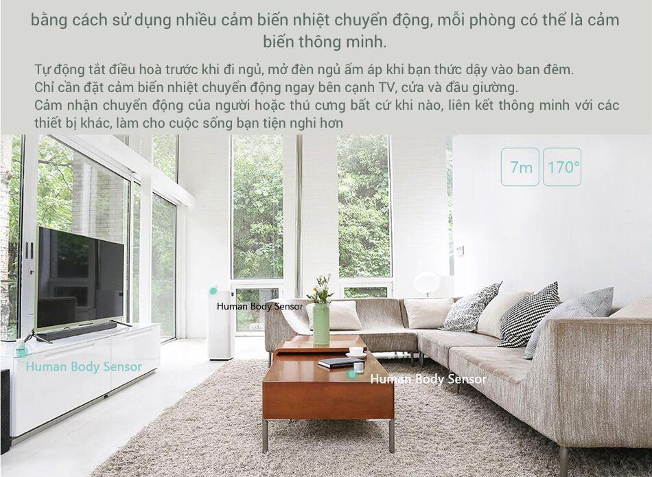 Cảm Biến Nhiệt Chuyển Động Xiaomi Mijia 12