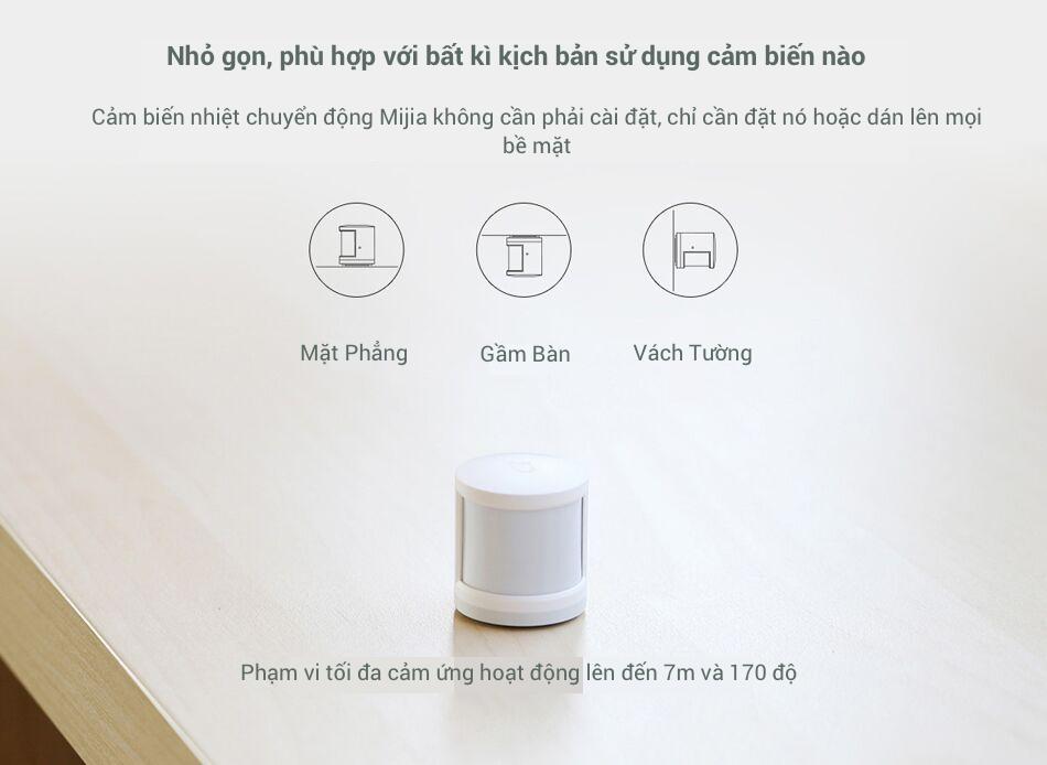 Cảm Biến Nhiệt Chuyển Động Xiaomi Mijia tốt không