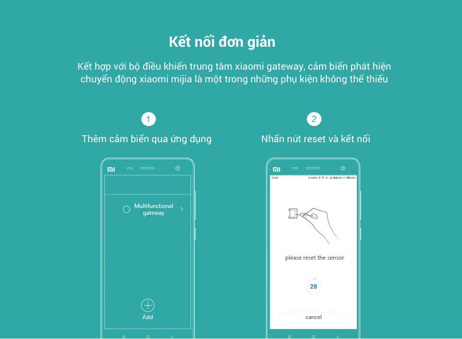 Cảm Biến Nhiệt Chuyển Động Xiaomi Mijia 17