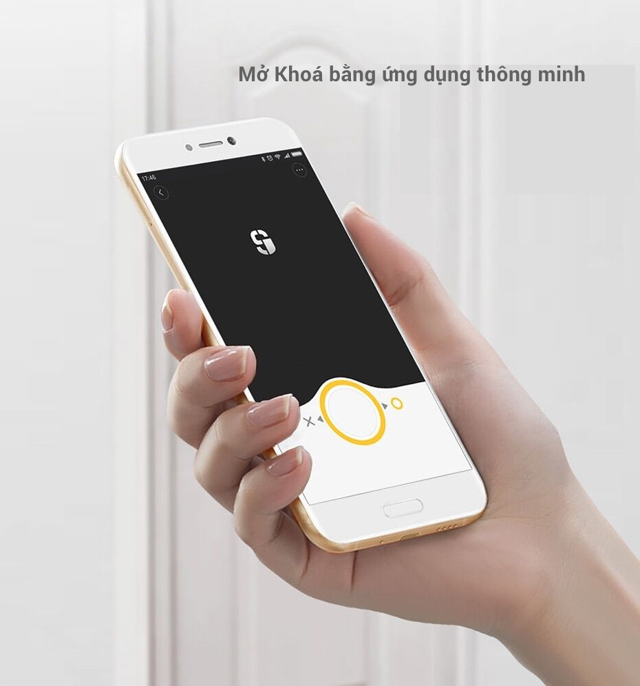Khoá Cửa Thông Minh Xiaomi Mijia Sherlock M1 13