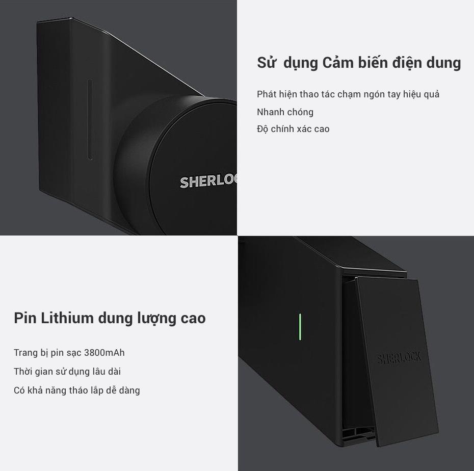 Khoá Cửa Thông Minh Xiaomi Mijia Sherlock M1 dùng được bao lâu