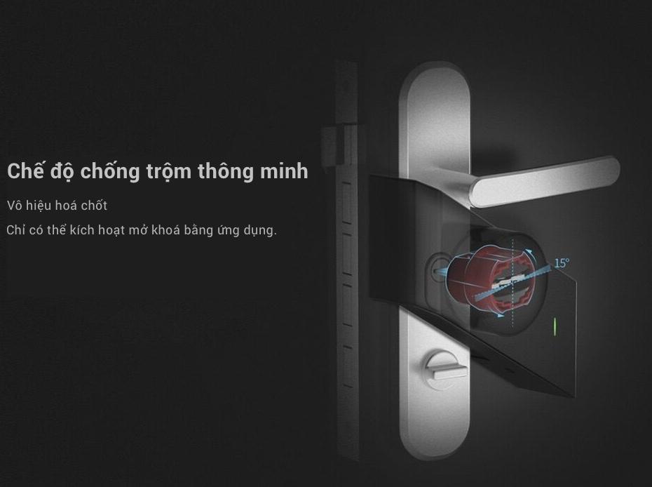 Chuyên cung cấp Khoá Cửa Thông Minh Xiaomi Mijia Sherlock M1 chính hãng tại sài gòn