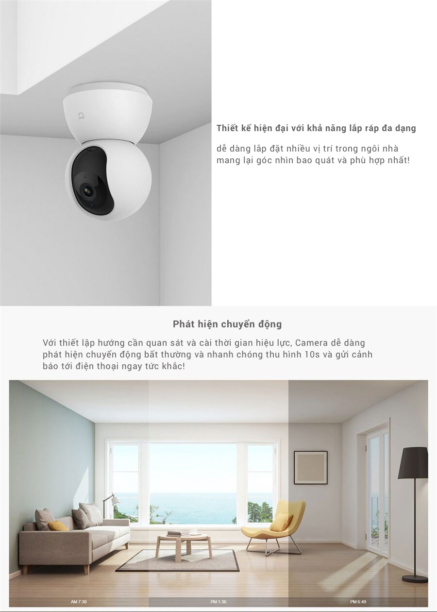 Xiaomi Mijia Smart 1080P 360 WiFi Camera where price guarantee high quality