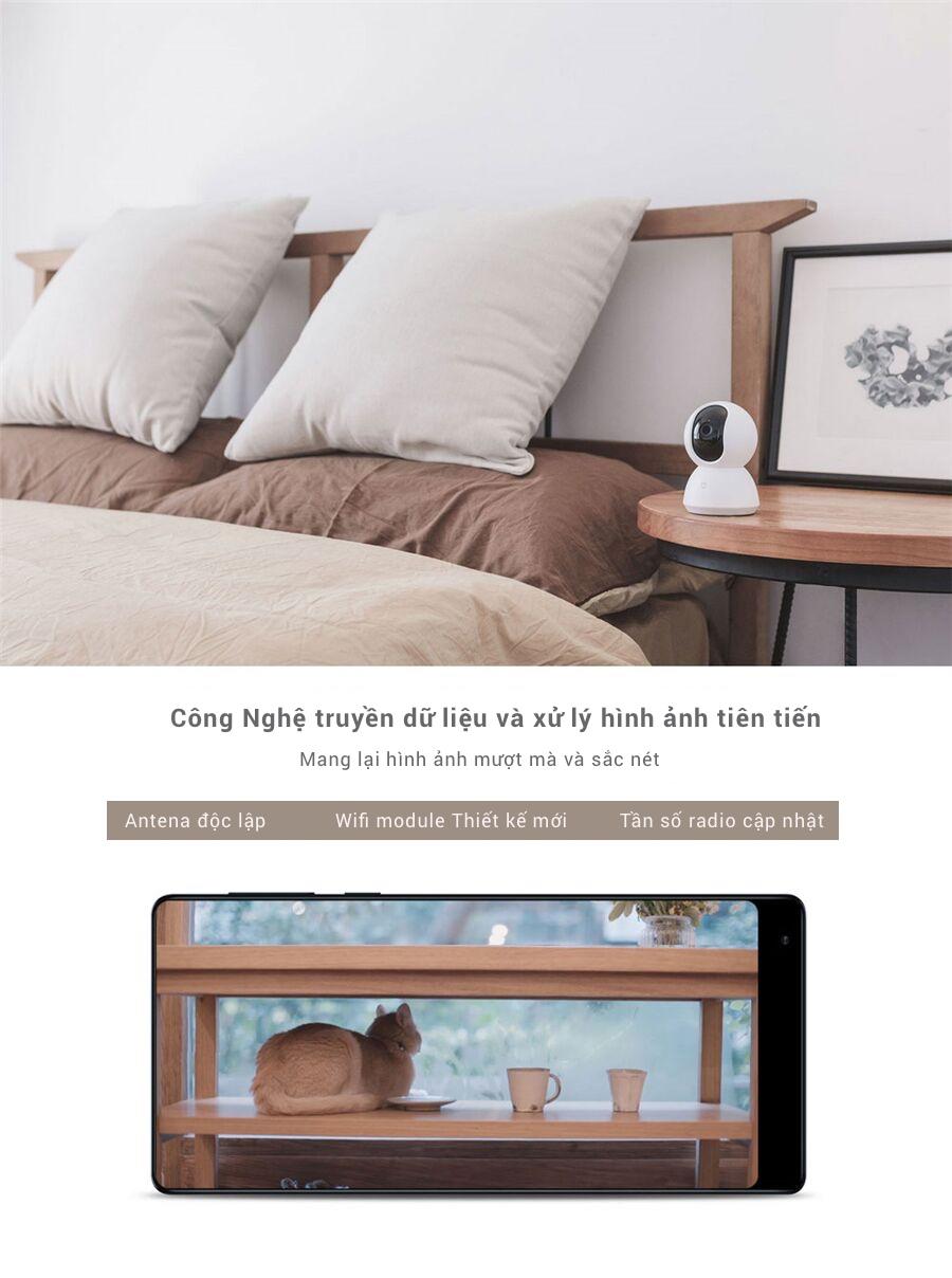 Camera WiFi IP Xiaomi Mijia Smart 1080P 360° (Phiên bản PTZ) 12