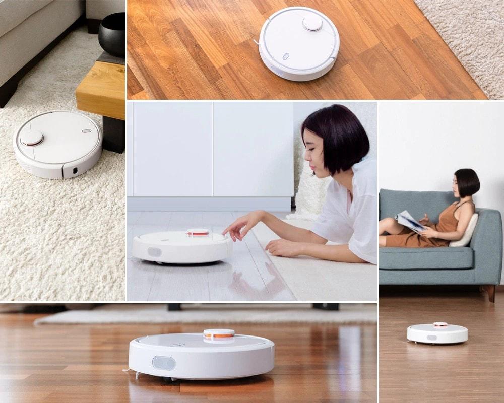 Xiaomi Mi Robot Vacuum SKV4000CN là sản phẩm máy hút bụi thông minh thế hệ mới, sử dụng tiện lợi với ứng dụng Mi Home giúp người dùng quản lý