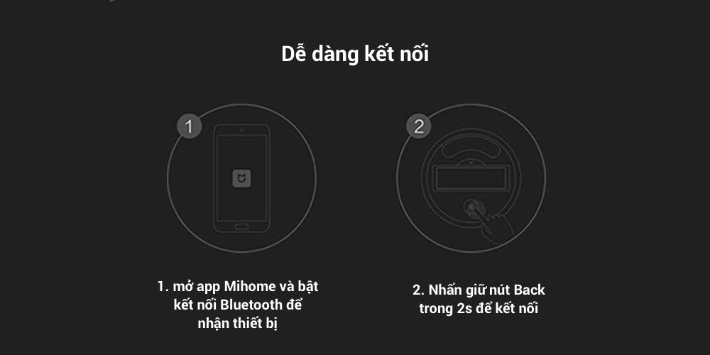 Nhiệt kế và ẩm kế kỹ thuật số Xiaomi Mijia có kết nối Bluetooth và hiển thị LCD 19