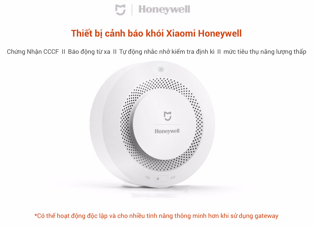 Xiaomi Honeywell Smoke Detectors and Smart Smoke Detectors in Saigon