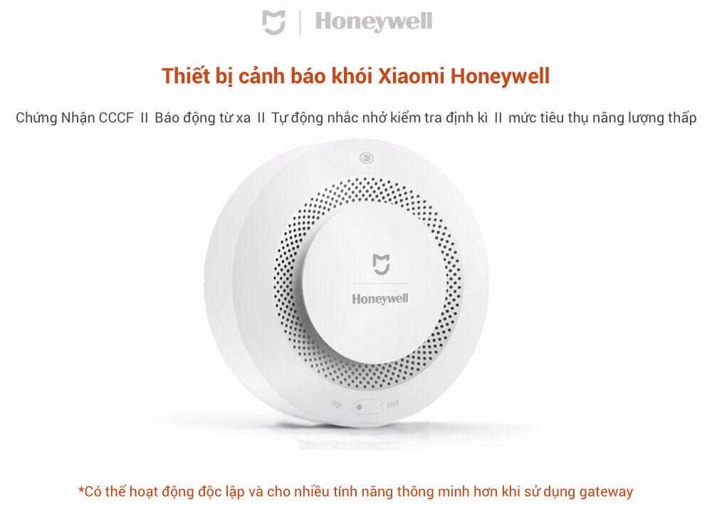 Cảm biến phát hiện khói và báo cháy thông minh Xiaomi Honeywell 7