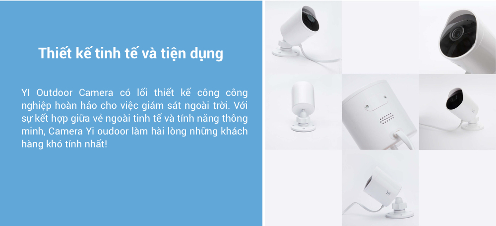 YI Outdoor Edition 1080p Outdoor Surveillance IP Camera