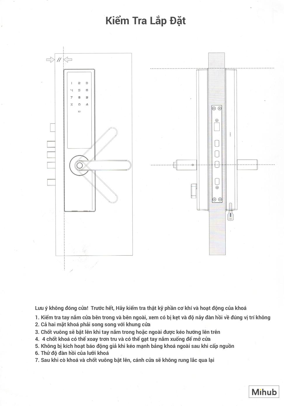 Hướng Dẫn Lắp Đặt Khoá Thông Minh Xiaomi Loock Classic 30