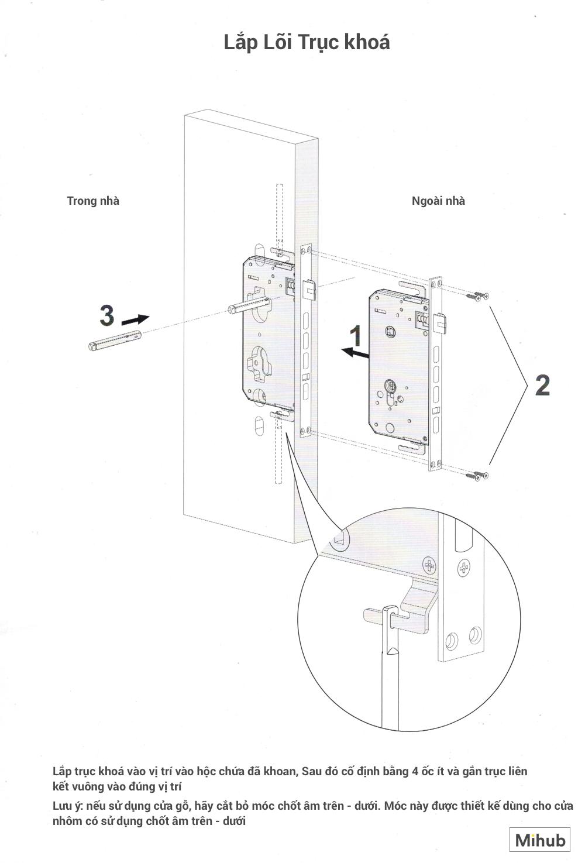 Hướng Dẫn Lắp Đặt Khoá Thông Minh Xiaomi Loock Classic 12