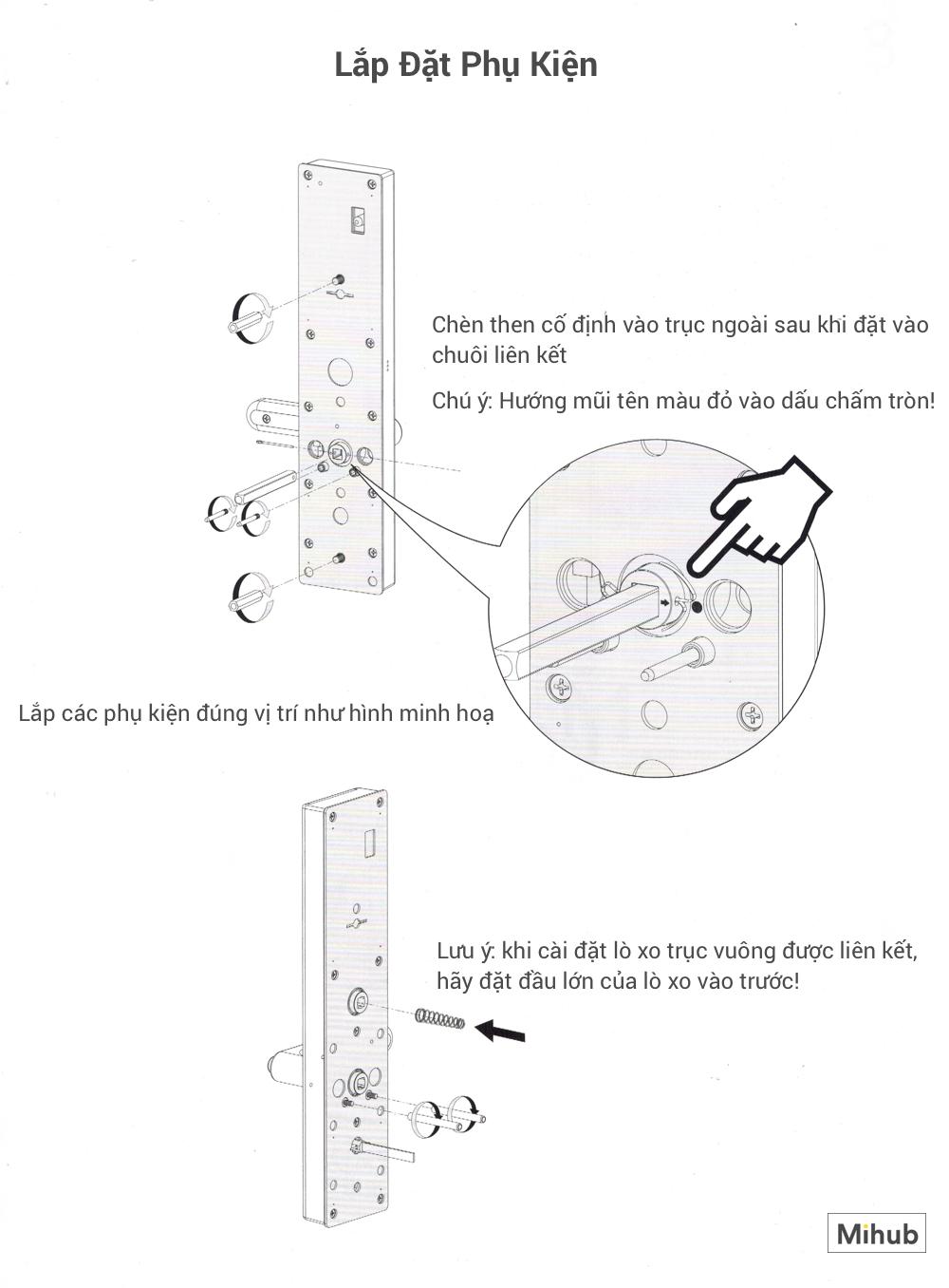 Hướng Dẫn Lắp Đặt Khoá Thông Minh Xiaomi Loock Classic 18