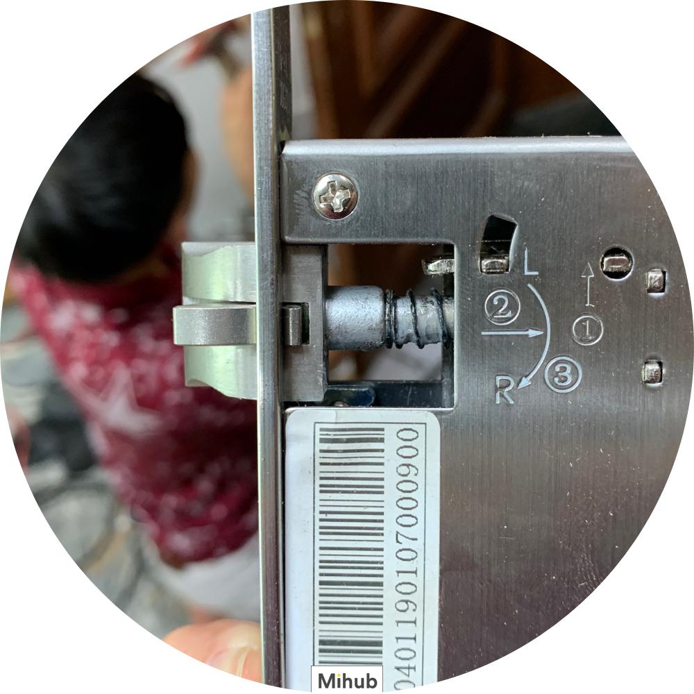 Self-install Xiaomi Loock Smart Lock Classic