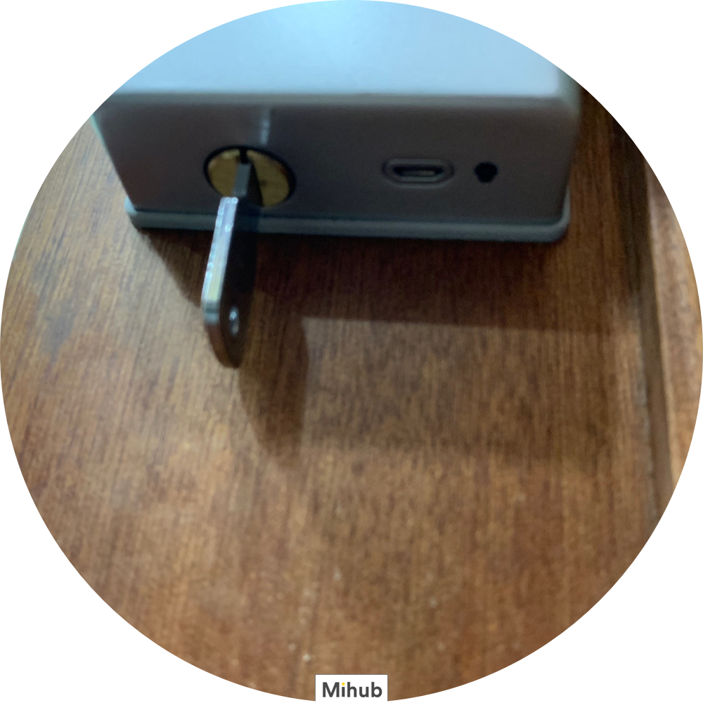 Instructions on how to connect Xiaomi Loock Smart Lock