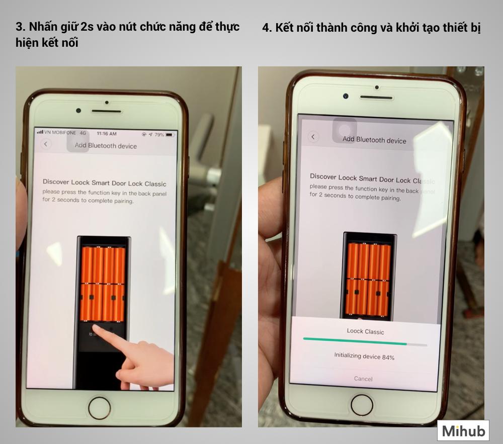 Thông tin Khoá Thông Minh Xiaomi Loock Classic