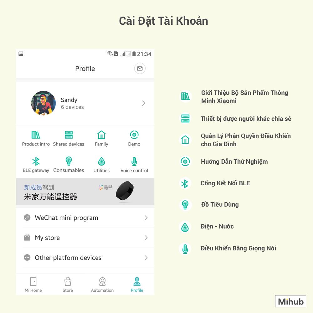 Hướng Dẫn Sử Dụng Ứng Dụng Mi Home - Phần Mềm Quản Lý Hệ Sinh Thái Nhà Thông Minh Xiaomi 6