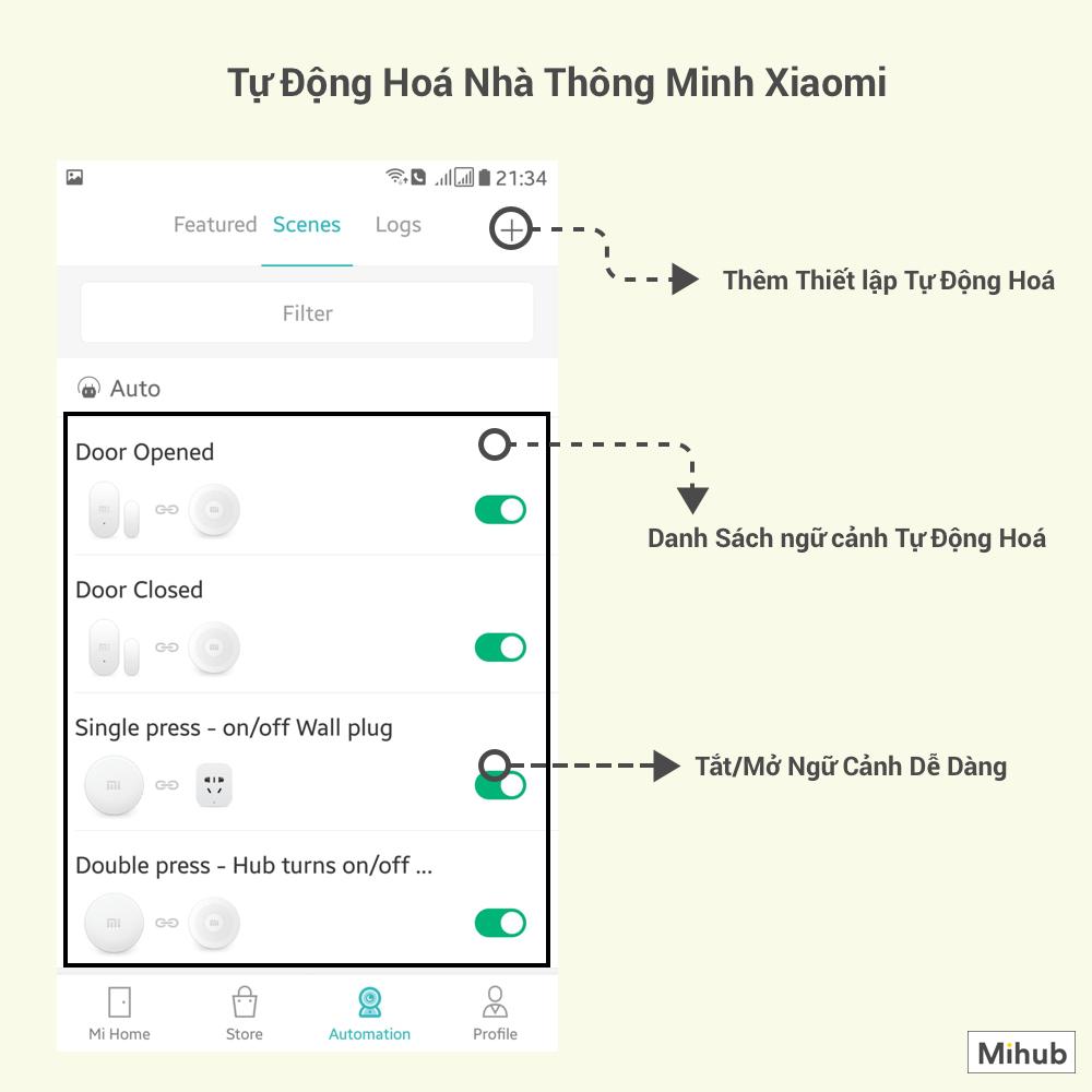 Hướng dẫn tải app mi Home