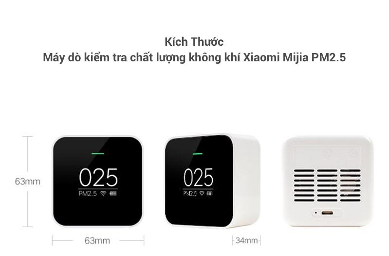 Địa chỉ chuyên bán Máy Dò Kiểm Tra Chất Lượng Không Khí Xiaomi Mijia PM2.5