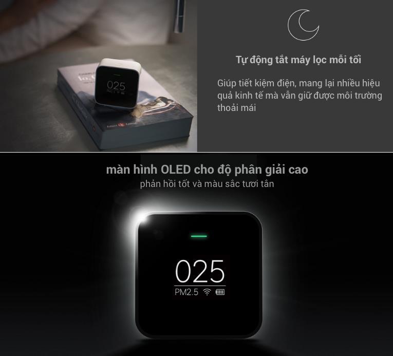 Cập nhật các thông tin về Máy Dò Kiểm Tra Chất Lượng Không Khí Xiaomi Mijia PM2.5 tại TPHCM