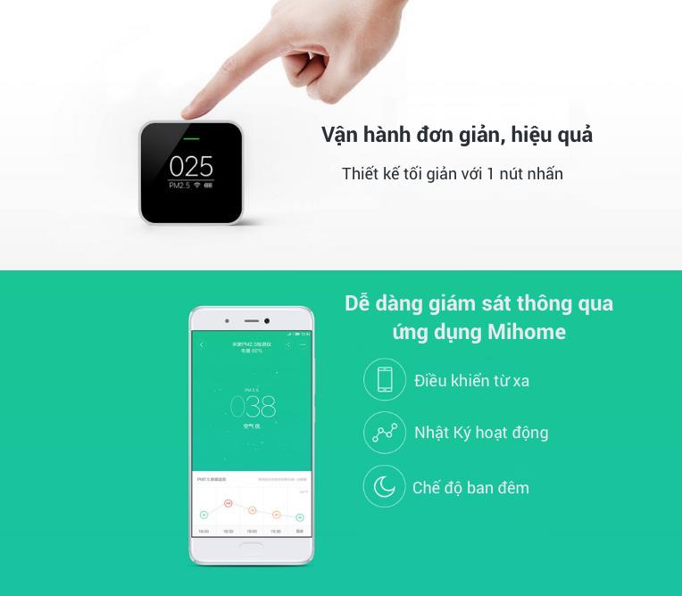 Đánh giá review mới nhất của sản phẩm Máy Dò Kiểm Tra Chất Lượng Không Khí Xiaomi Mijia PM2.5