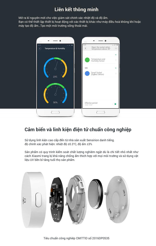 Cảm Biến Nhiệt Độ và Độ Ẩm Của Xiaomi Mijia 13