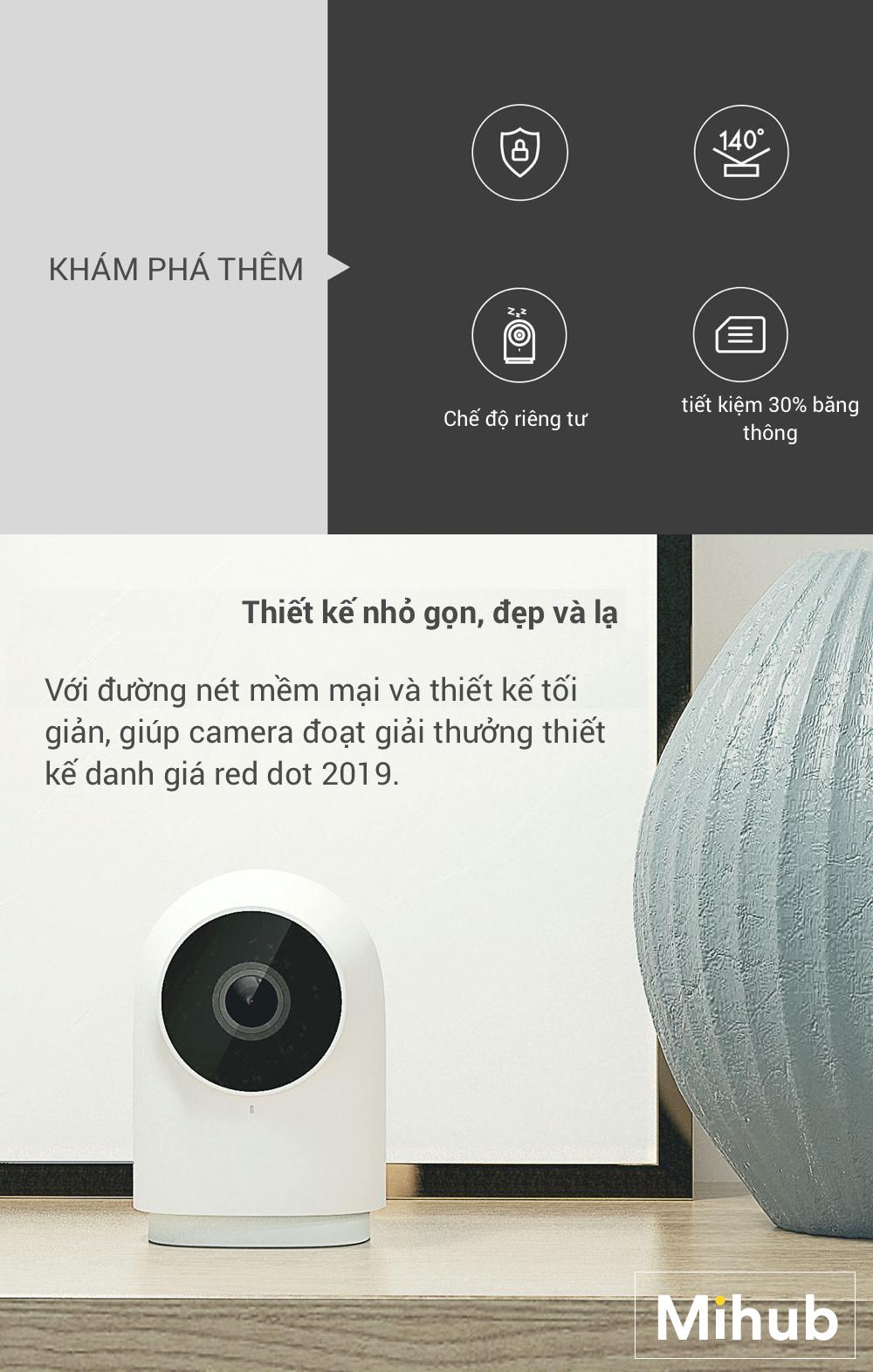 Camera Thông Minh IP Aqara G2 1080p (Phiên Bản Gateway) 17