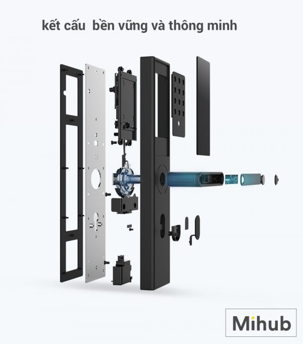 Khóa Cửa Thông Minh Xiaomi Youpin OJJ X1 6