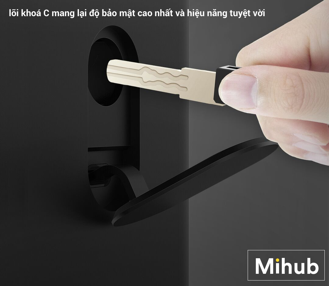 Khóa Cửa Thông Minh Xiaomi Youpin OJJ X1 20