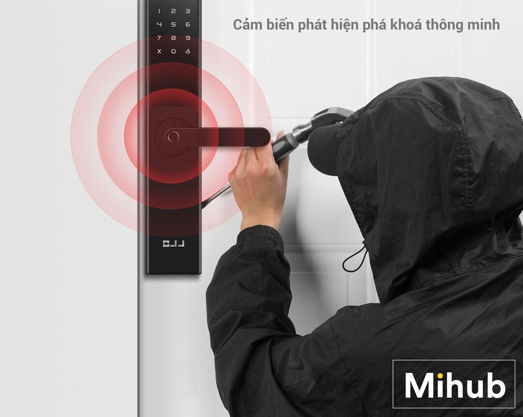 How is the smart door lock Xiaomi Youpin OJJ X1