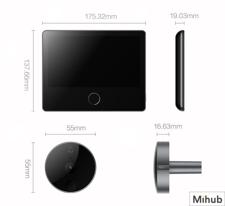 Chuông Cửa Video Thông Minh Xiaomi LOOCK CatY LSC-Y01 hàng nhập khẩu