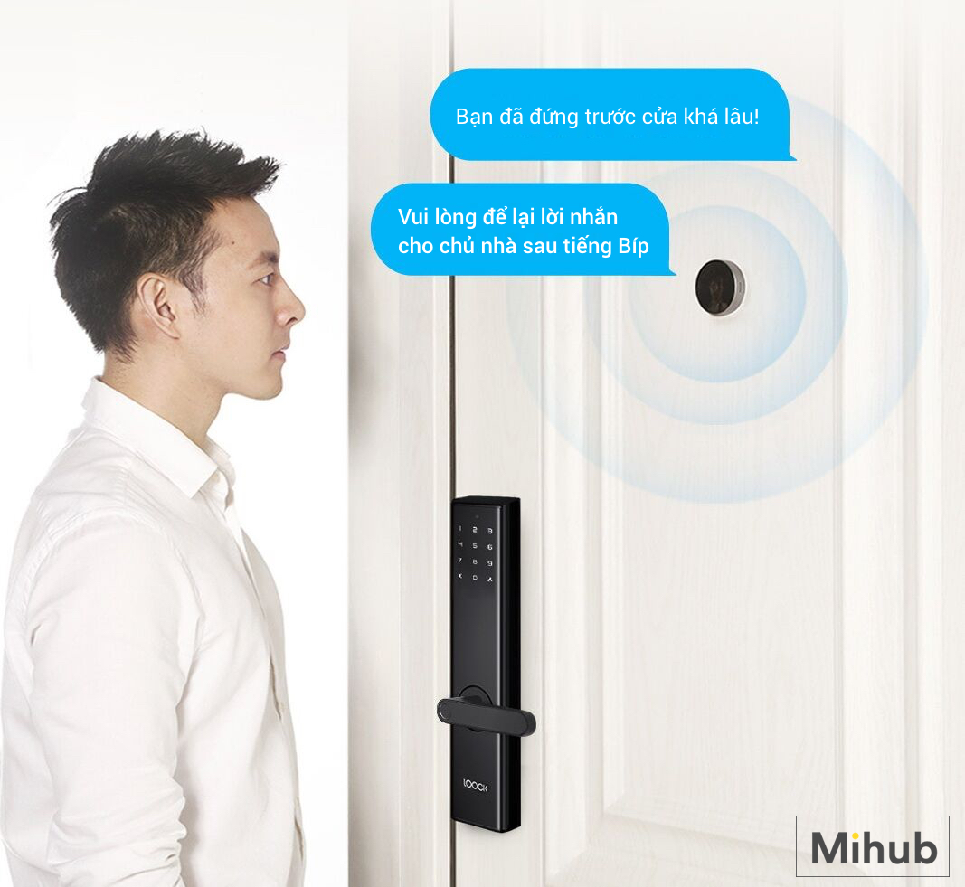 Smart home system need to buy Xiaomi LOOCK CatY LSC-Y01 Smart Video Doorbell