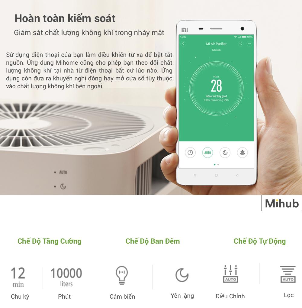 Mua Máy Lọc Không Khí Xiaomi MI Air Purifier 2 giá rẻ